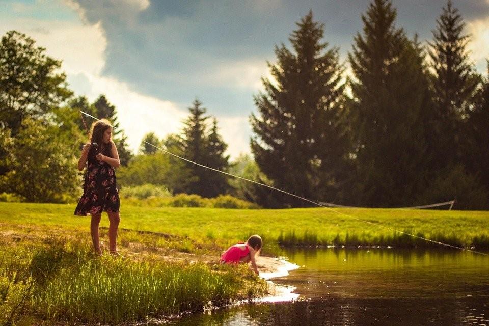 activités pour enfants -la pêche